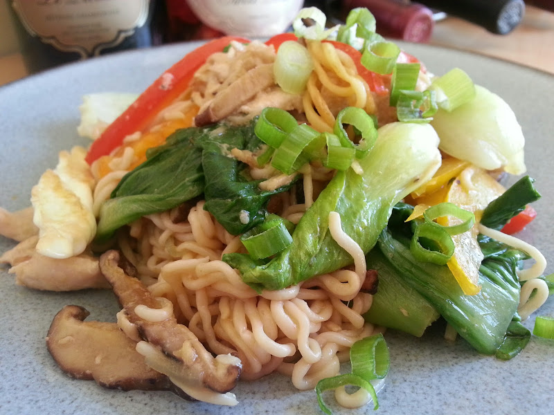 Shiratake Stir Fry