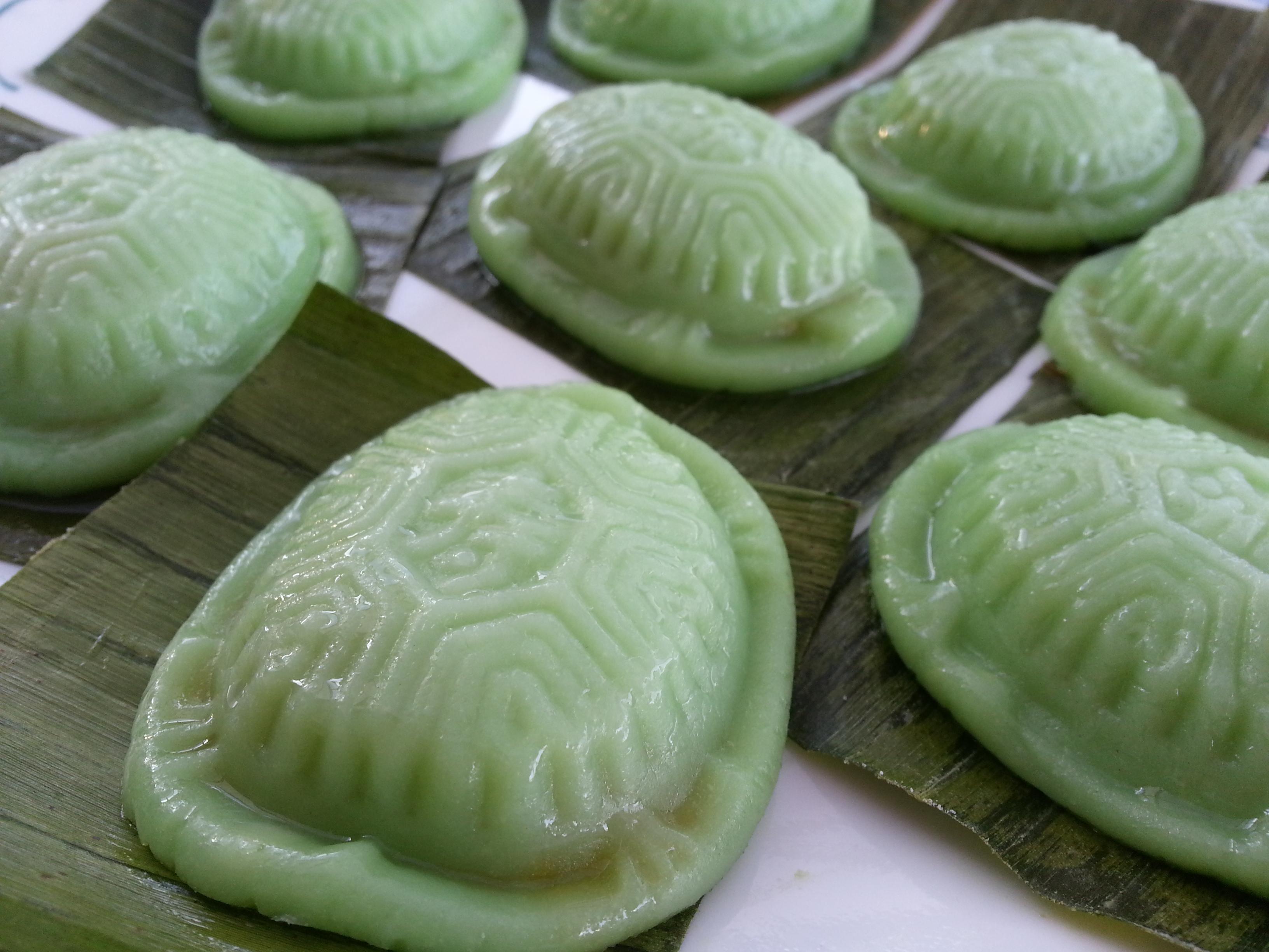 green ku kueh