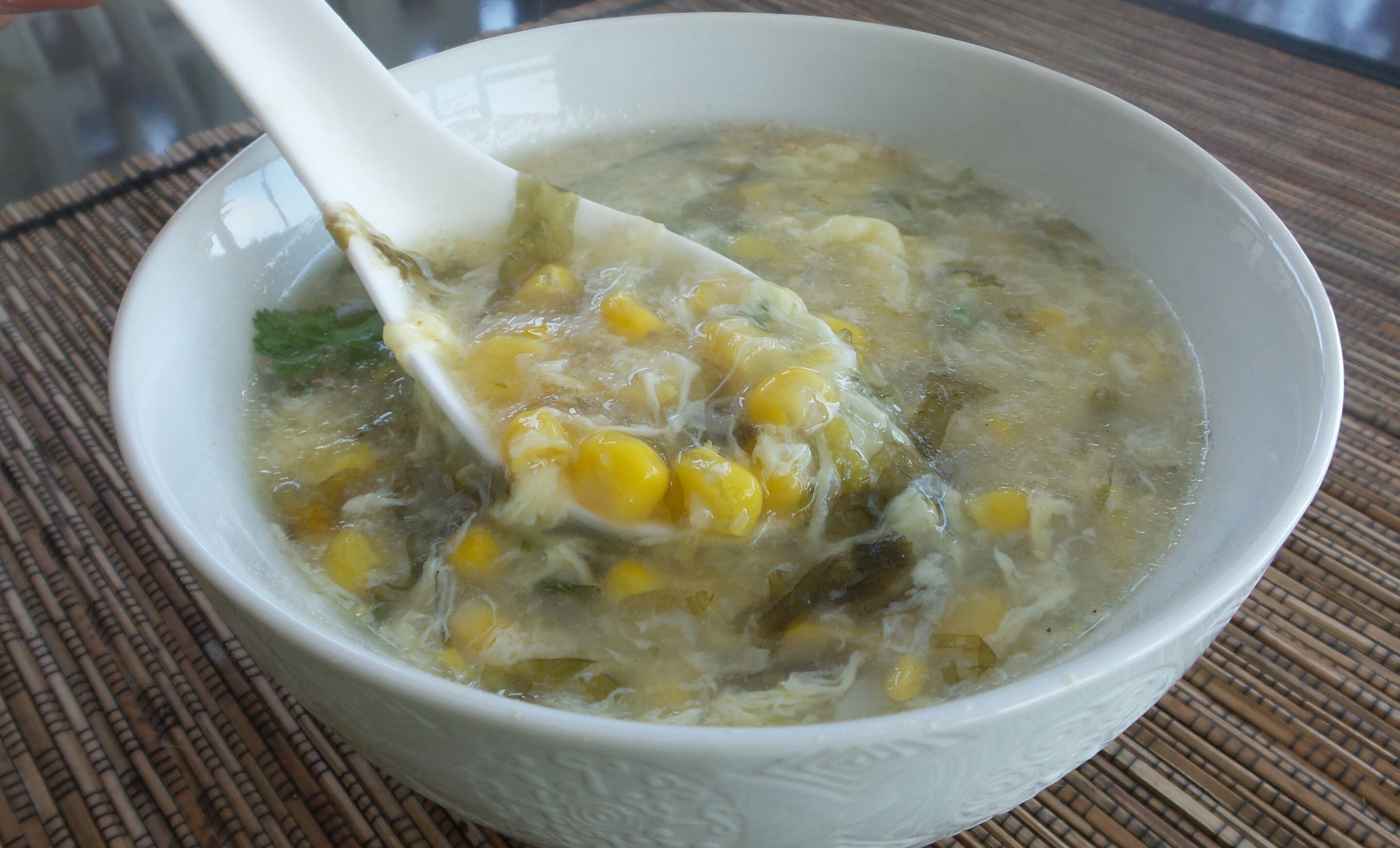 Sweet Corn Egg Drop Soup2