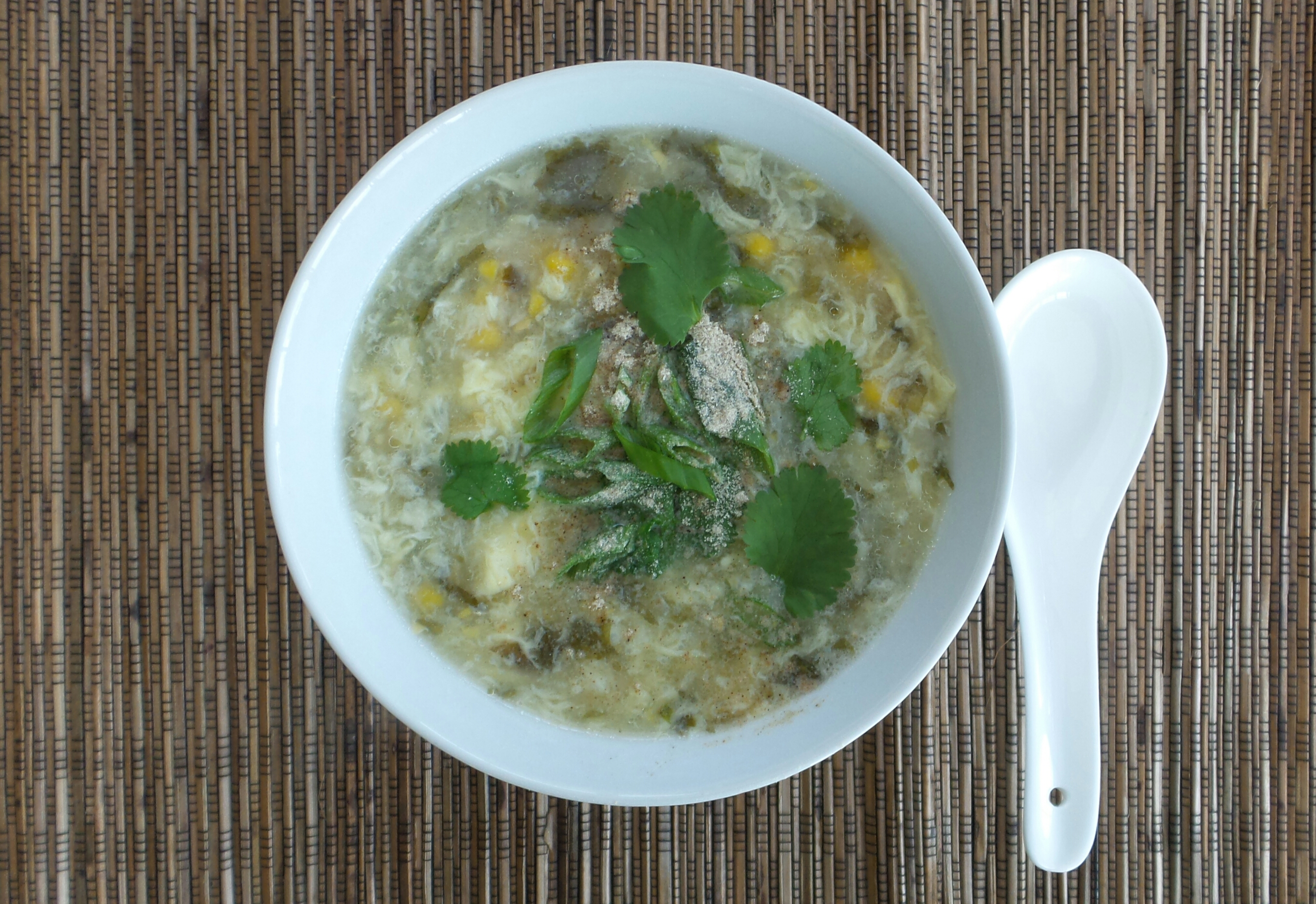 Sweet Corn Egg Drop Soup4