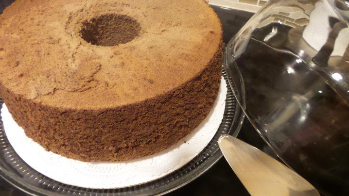 Chocolate Chiffon Cake 9